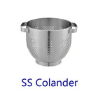 Stainless steel colander/fruit colander bowl/ vegetable colander