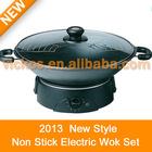 electric wok set