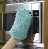 micro oven wash mitt and glove , cleaning gloves