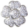 women's belt buckle with rhinestone