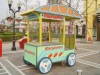commercial mall mobile ice cream vending cart NO.9802