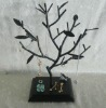 wire tree jewelry display