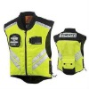 Reflective VEST ICON MIL SPEC MESH VEST YELLOW Military Spec High Visibility Fighter Mesh Motorcycle Riding Vest