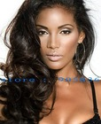 good quality dark brown body curl 100% human Hair lace Wig