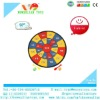 "Multicoloured Dart Board 14"" Dart Game Set BB203"