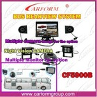 car rearview system mutiple TFT monitor for option