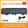 5w CREE four row led light bar,off road light,400w power,28000lm ,IP68,for ATV/UTV/OFF ROAD CAR/MINING
