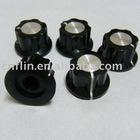 20x12mm 6mm 18 teeth push on knob for Linear Potentiometer