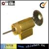 Brass knob cylinder lock