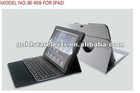 2012 newest Bluetooth wireless keyboard Case for IPAD