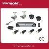 4 CH H.264 DIY Mini CCTV Network Cameras System