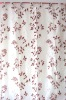 Burn out curtain fabric