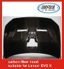 Mitsubishi accessories/engine x hood for Lancer EVO 10