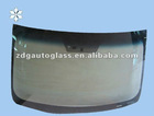 front automotive glass without air bubble