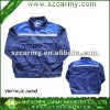 High quality Blue high visibility reflective safety workwear jacket/work clothes