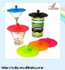 Promotional customerized silicone lid for cups