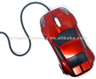 2012 latest design car wired 3d optical computer mouse
