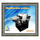 Inkjet digital flatbed printers for wall paper with multifuctional