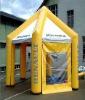 6 legs inflatable airtight tent