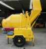 Full hydraulic concrete mixer