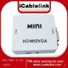mini hdmi to vga conventor support 1080p