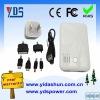 dual usb power bank 5000mah for iphone4