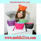 5/Lot Girls Small Make Up Pouch Cosmetic Travel Zipper Case Bag Coin Purse 5 Color (SP0075)