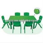 kindergarten plastic tables and chairs Learning table rectangular table children's desk MQM11260A