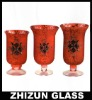 S02230 romantic glass candle holder