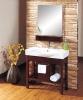 Modern Solid Bathroom Cabinet