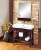 Modern Solid Bathroom Cabinet