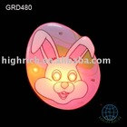 easter flashing gift/flashing pin/flashing badge /badge