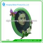Beautiful expoy oval photo frame