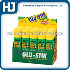 Cardboard glue stick paper display box