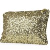 Womens Girls Celebrity Style Sequin Gliter Spangle Clutch Pouch Tote Handbag