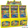 pot of gold coin operated redemption game machine