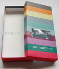 underwear cardboard paper package box with good quality