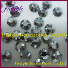 Hot sales Supper shining ss4, ss6.ss8,ss10.ss12,ss16,ss20,ss30,ss34,ss40 Silver color iron on rhinestone motif
