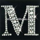 2012 Hot Sale Crystal Sticker/Shining Bling Bling Letter Designs