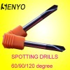 SENYO-60/90/120 degree 2 blades NC spotting drills