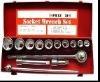 WL07019H 15PCS heavy duty socket wrench set
