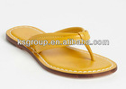 New design ladies flat sandals and slippers