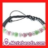 Aka Jewelry Pave Bead Necklace Wholesale