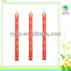 Opened red paper cover Tensoge bamboo chopsticks used in Festival Birthday banquet