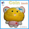 ceramic cat shape money bank