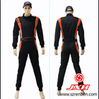 2012 latest 2 layer one piece fire resistant racing suits for men