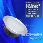 15W Reflector lights