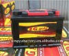 Auto Maintenance Free Car Battery JIS Standard 55D23L 12V60Ah