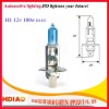 small headlights H1 12v 55w for motorcycle super white