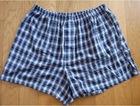 Hot Sale Men's 95% Cotton 5% Spandex Woven Boxer Shorts